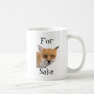 For Fox Sake! - mug Mugs