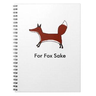 For Fox Sake Notebook