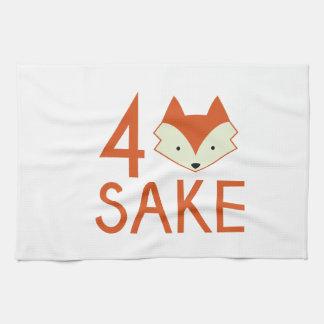 For Fox Sake Towel