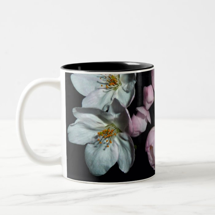 For fund-raising and Cherry blossoms, cherry tree Two-Tone Coffee Mug