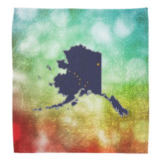 For Gifts: Alaska Flag Map Bandana