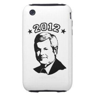 FOR GINGRICH 2012 TOUGH iPhone 3 CASE