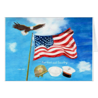 For God and Country Card
