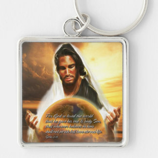 For God so Loved the World 2 Keychains