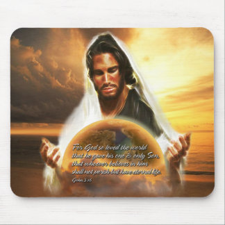 For God so Loved the World 2 Mouse Pads