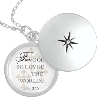 For God So Loved The World Christian Necklace