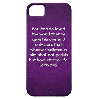 For God so loved the world ...   John 3:16 iPhone 5 Covers