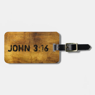 For God So Loved the World...John 3:16 Luggage Tag