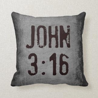 For God So Loved the World...John 3:16 Throw Pillows