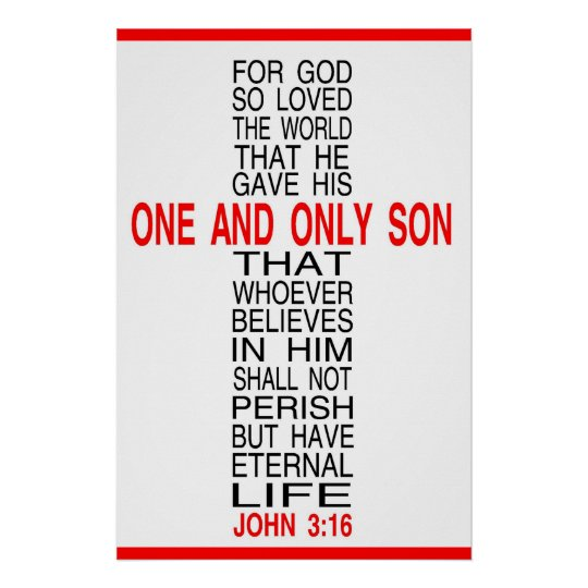 For God So Loved The World poster