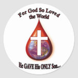 For God So Loved the World Stickers