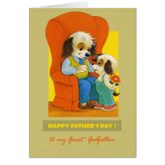 For Godfather on  Father's Day Card