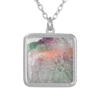 For good aiming proyect square pendant necklace
