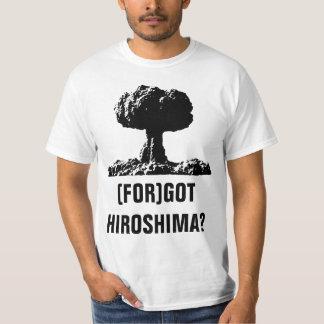 (FOR)GOT HIROSHIMA? TEE SHIRT