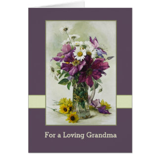For Grandmother on Mother's Day Greeting Cards