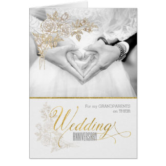 for Grandparents Wedding Anniversary Card