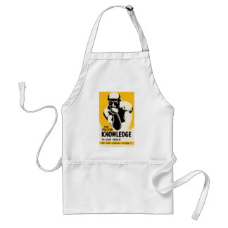 For Greater Knowledge Adult Apron
