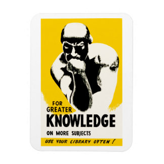 For Greater Knowledge Magnet
