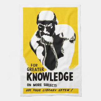 For Greater Knowledge Towel
