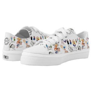 """For he/she """"who reads much and travels much"""" Low-Top sneakers"""