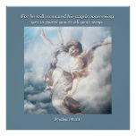 For he will command his angels concerning you. print