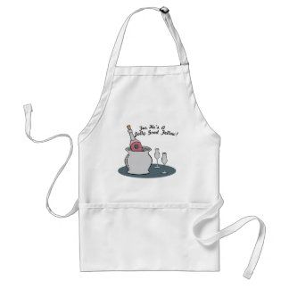 for Hei's a Jolly Good Fellow! Adult Apron