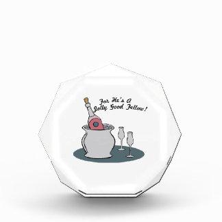 for Hei's a Jolly Good Fellow! Acrylic Award