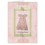 For Her...baby shower invitation Greeting Cards