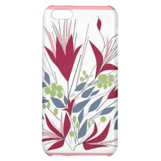 For Her, Flowery iphone Case Cover For iPhone 5C