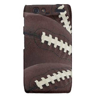 For Him Football Droid Razor Phone Case Droid Razr Case