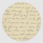For History Buffs: Lincoln's Letter to Greeley Sticker