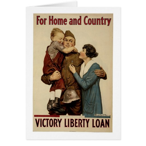 For Home and Country Card