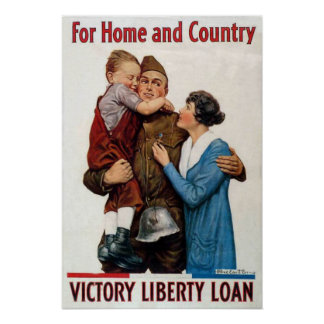For Home and Country Poster