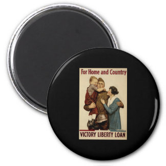 For Home and Country Victory Liberty Loan Magnet