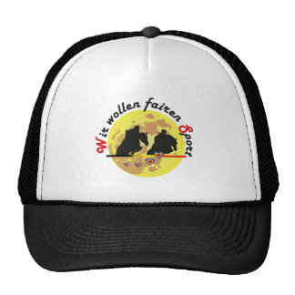 For horses and equestrian sports lover Cap Mesh Hats