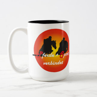 For horses and equestrian sports lover cup