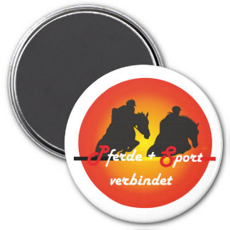 For horses and equestrian sports lover of magnets