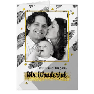 For Husband on Father's Day Custom Photo Cards