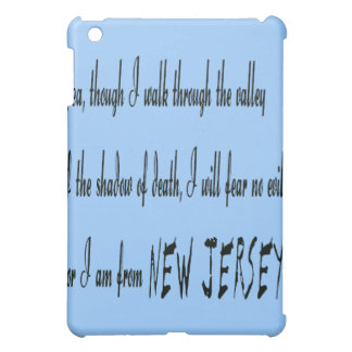 ...For I Am From New Jersey  Case For The iPad Mini