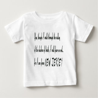 For I Am From New Jersey Shirt Infant