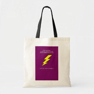 For I Am Zeus Budget Tote Bag