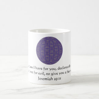 For I know the plans I have  - Jeremiah 29:11 Coffee Mug