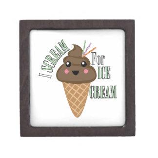 For Ice Cream Premium Jewelry Boxes