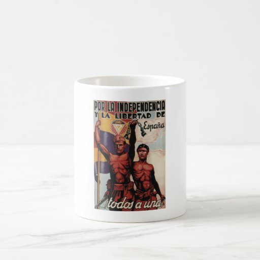 For independence and to freedom_Propaganda Poster Coffee Mug