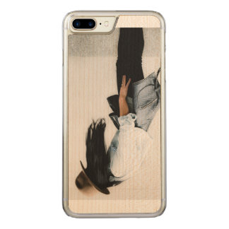 for iPhone 6/6S Design Yulya Che Carved iPhone 8 Plus/7 Plus Case