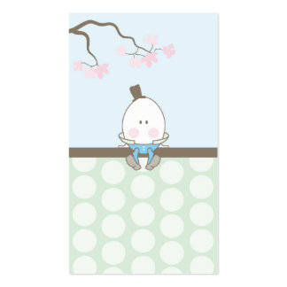for_juhi - Humpty Dumpty Party Favor Tag Business Card
