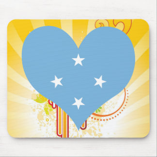 For Kids: Cool Federated States Of Micronesia Mouse Pad