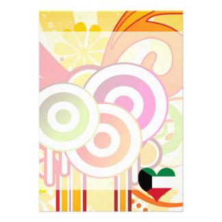 "For Kids: Cool Kuwait 5"" X 7"" Invitation Card"