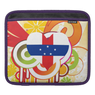 For Kids: Cool Netherlands Antilles Sleeves For iPads