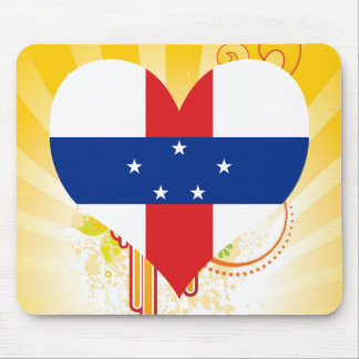 For Kids: Cool Netherlands Antilles Mouse Pad